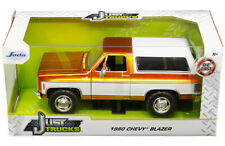 1980 CHEVROLET BLAZER K5 COPPER/WHITE JUST TRUCKS 1/24 SCALE JADA TOYS 31591
