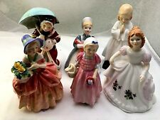 LOT OF 6 ROYAL DOULTON FIGURINES-1677/1809/1936/1978/2142/ & 3331-ALL EXCELLENT