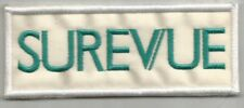 SUREVUE lentilles de contact opticien écusson / patch 10X4 cm