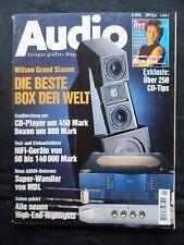 Audio 5/96, Wilson Grand Slam X 1 Witt, Levinson 331,mbl 1611, YAMAHA RX V 2090,