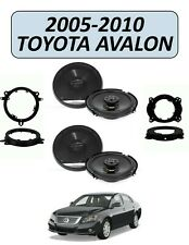 Fits TOYOTA AVALON 2005-2010 Factory Speaker Replacement Combo, PIONEER