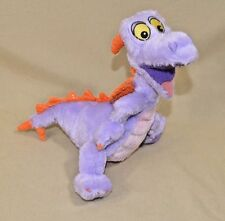 "9""Disney Figment Imagination Purple Dragon Dinosaur Plush Stuffed Animal"