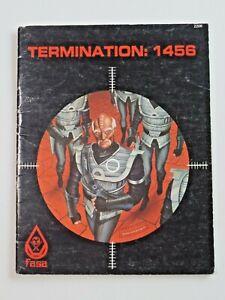 TERMINATION: 1456 Fasa 2206 RPG Game Book Star Trek 1984  7534