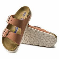 BIRKENSTOCK ARIZONA WOMEN'S SLIPPERS SOFT FOOTBED SUEDE