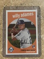 2018 Topps Archives Baseball #95 Willy Adames RC Tampa Bay Rays