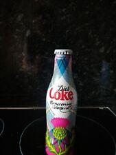 Coca-Cola Diet Coke Homecoming Scotland  2014  unopened aluminium bottle - rare