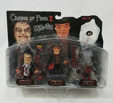 Mezco Mez-Itz Cinema of Fear II Leatherface Freddy Jason Figure Set New