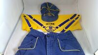 Vintage Cub Scout Hat, Pants, Neckerchief and Den 2 Rocker Patch