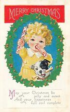 CHRISTMAS – Child and Dog