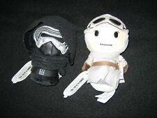 Hallmark Itty Bittys REY & KYLO REN Star Wars Rise of Skywalker - NEW WITH TAGS