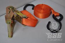 Spanngurt Ratschengurt Harley Davidson 3m x 25mm mit Haken 4 Stück 8-teilig Set