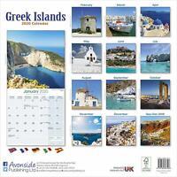 Greek Islands Calendar 2020