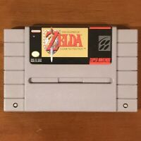 The Legend of Zelda: A Link to the Past (Super Nintendo SNES) TESTED WORKS!!!