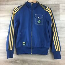 Adidas Unisex Men Womens Track Jacket Size 38 (see measurements) Blue Striped