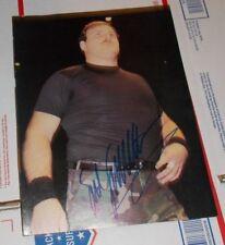 Signed Sgt. Slaughter Magazine 8x10 Photo Autographed WWF NWA AWA GI JOE