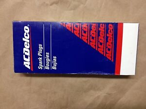 AC Delco, Spark Plug, 41-629, Set of 8,