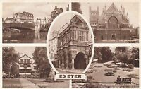 Postcard - Exeter - 5 views