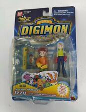 "1999 Bandai Digimon Digi Destined Izzy 3"" Mini Figura"
