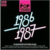 Various Artists - Pop Years (1986-1987, 2009) (CD, Album) ,New&Sealed,