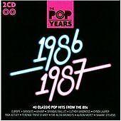 Pop Years - 1986/1987 (2 X CD ' Various Artists)
