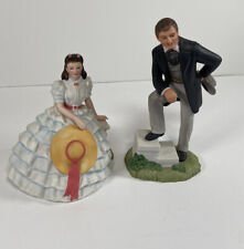 🔥Avon Vintage Gone with the Wind Figurine Set- Mint Condition!