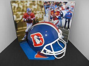 Denver Broncos Throwback Adult Riddell Helmet.