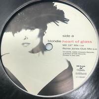 "Blondie Heart Of Glass Vinyl Record 1995 Rare House Remixes 12"""