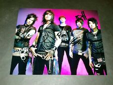 "FALLING IN REVERSE BAND SIGNED 10""X8"" REPRO PHOTO PP RONNIE RADKE"