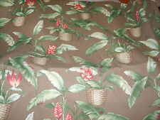 Houseplant potted plant fabric material sewing upholstery unique & chic outdoor