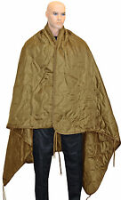 NEW Coyote Camo Ripstop PONCHO LINER - Multi Function Thermal Emergency Blanket