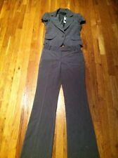 "NWT Bcbg Maxazria Grey Pant Suit. Jacket S/Pant 2, 30"" inseam"