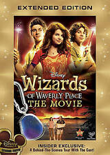 Wizards of Waverly Place The Movie DVD Extended Edition Disney Original Movie