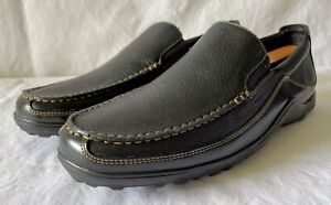 Cole Haan Men's Black Leather Casual Size 11 Loafers...New Without Box