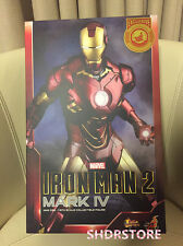 HOT TOYS IRON MAN 2 MARK IV 1/6 ACTION FIGURE SHANGHAI DISNEYLAND EXCLUSIVE NEW