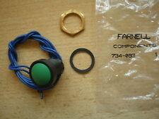 Inverseurs-DB Rond Bouton Poussoir Interrupteur pour diamètre 16 mm Coupé Pack de 2 Z485