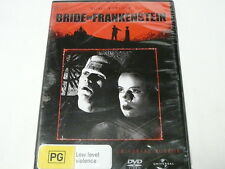 "BRIDE OF FRANKENSTEIN BORIS KARLOFF BLACK & WHITE DVD R4 ""NEW SEALED"" AUZ SELLER"
