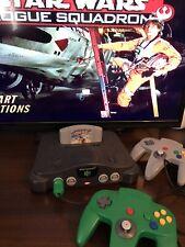 Nintendo64 bundle! Console + Star Wars + 2 Controllers + Expansion Pak