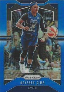 2020 WNBA PANINI PRIZM * ODYSSEY SIMS * BLUE PRIZM PARALLEL CARD 045/149 LYNX