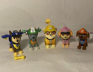 Paw patrol dinosaur Marshall, Zuma, rocky, rubble, Skye, chase pup figures  (51)