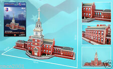 Independence Hall Philadelphia - 43pc 3D Building Model