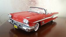 1:24 ULTRA RARE Danbury Mint 1958 Pontiac Bonneville Limited Edition 1409 no