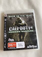 Call of Duty Modern Warfare 4 PS3 PlayStation 3 With Manual 🇦🇺 Seller Oz