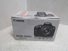 Canon EOS 2000D EF-S 18-55 III Kit