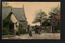 Gateshead - Coach Road Entrance - colour printed postcard