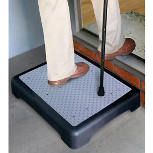 DWD Non-slip Half Door Step Elderly Infirm Disability Walking Mobility Aid
