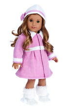 Lavender - 18 inch American Girl Doll Clothes - Doll Outfit - Coat, Hat, Boots