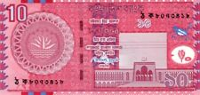 Bangladesh 2010 billet neuf de 10 taka pick 47c UNC
