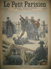 ESPAGNE EXECUTION SUPPLICE GARROT BOËRS PRETORIA ANGLAIS LE PETIT PARISIEN 1900