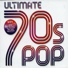 Ultimate 70's Pop  3 x CD  New & Sealed Abba, Essex, Dawn, Cliff, 10CC, Sweet