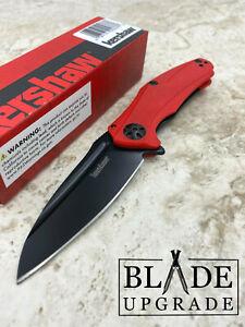Kershaw Natrix Framelock Red Pocket Flipper KVT Ball EDC Folding Knife 7006RDBLK